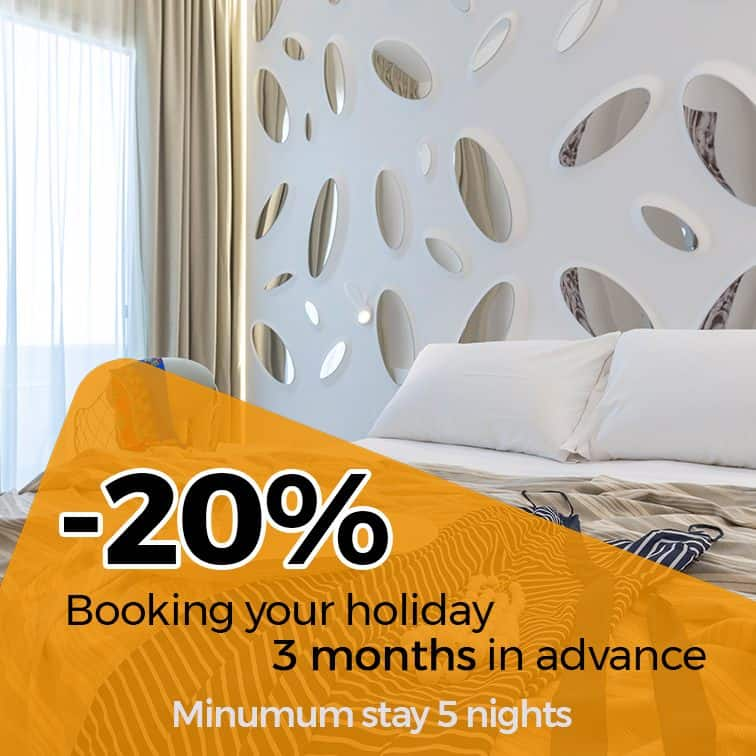 20% Booking your holiday