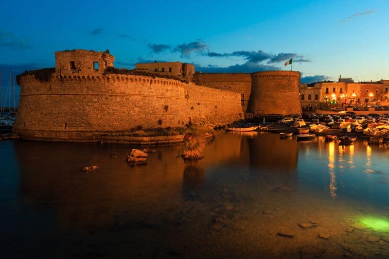 castello angioino gallipoli